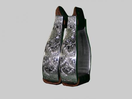 Visalia Stirrups, Aluminium Engraved  DOA