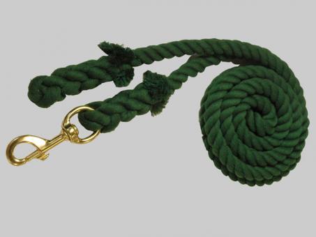 Cotton Lead 3/4x10 Brass Snap Green
